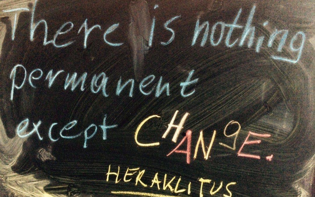 Vom Tempo der Veränderung – und der Auszeit