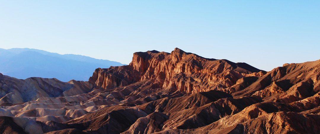 Tödliche Sonne: das Death Valley